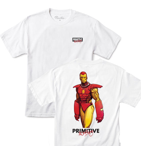 Primitive X Moebius - Iron Man (White) - Plazashop