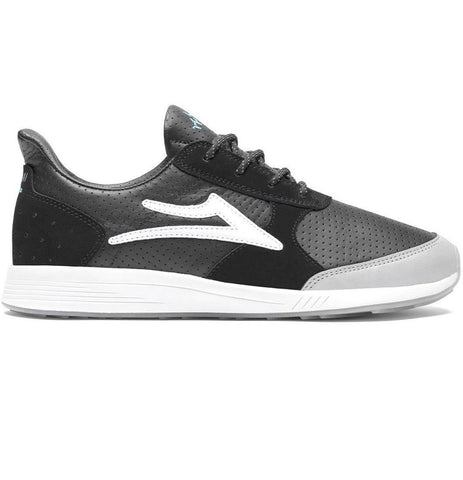 Lakai X Meridian - Evo (Black/Crystal Leather) - Plazashop