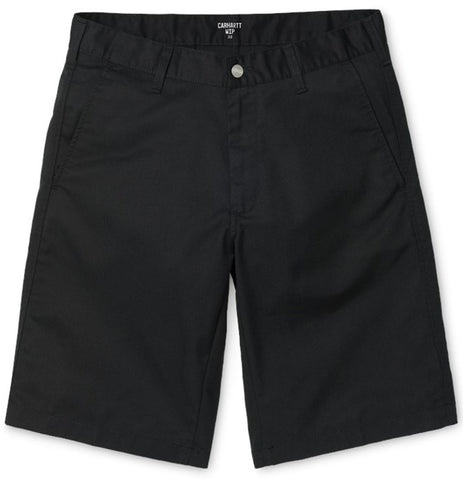 Carhartt WIP - Presenter Short (Black Rinsed) - Plazashop