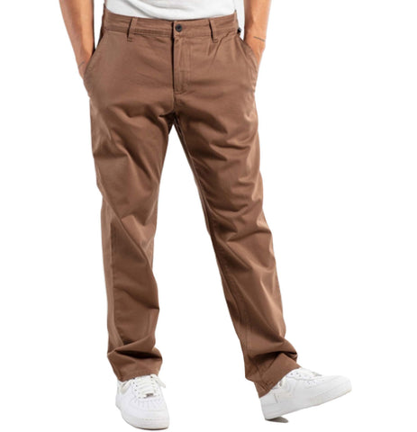 "Reell - ""Regular Flex Chino"" (Brown) - Plazashop"