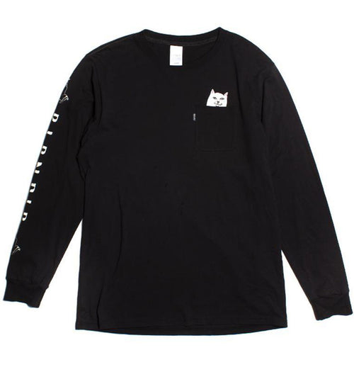 RIPNDIP - Lord Nermal L/S (Black) - Plazashop