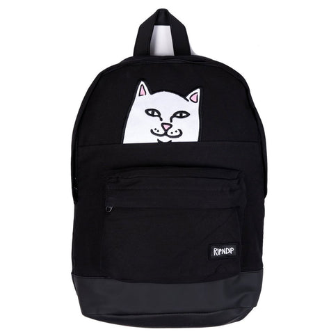 RIPNDIP - Lord Nermal Backpack (Black) - Plazashop