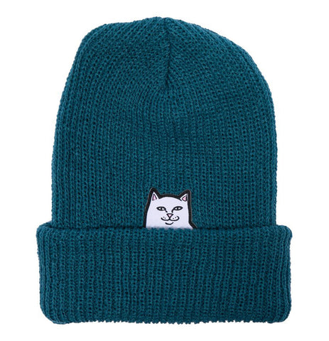 RIPNDIP - Lord Nermal Beanie (Teal) - Plazashop