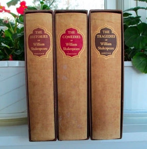 William Shakespeare's Plays: The Histories, The Comedies, The Tragedies 3 Volume Set