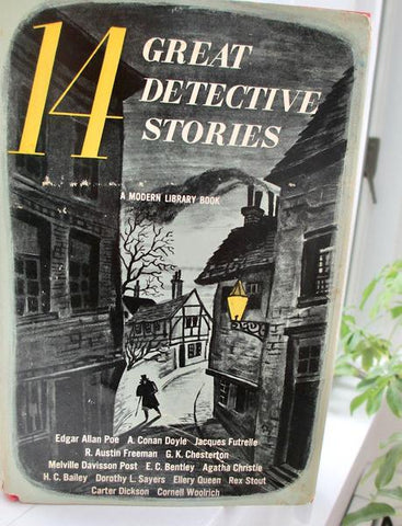 14 Great Detective Stories Mystery Fiction Collection edited by Howard Haycraft