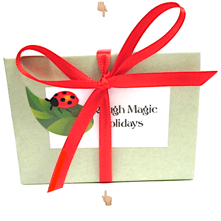 Christmas Jewelry Collection by Rough Magic Holidays for J and M Handmade Jewelry
