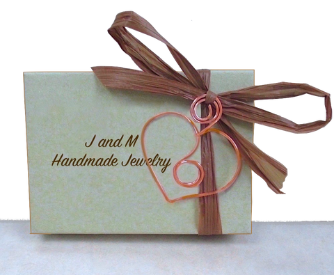 J and M Handmade Jewelry shop online on Prospero Lane.
