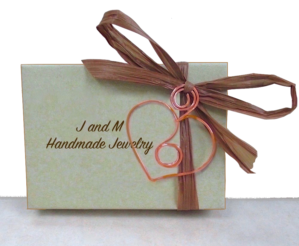 J and M Handmade Jewelry Complementary Presentation Box