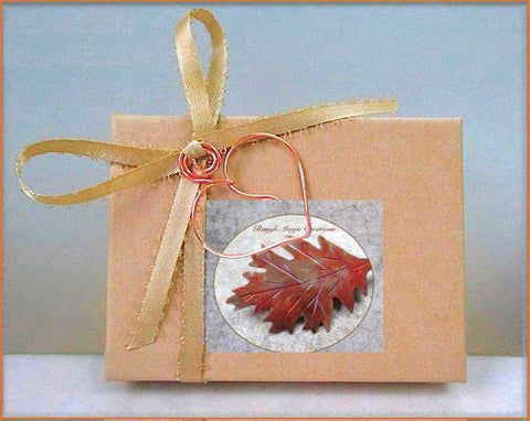 Jewelry presentation box complementary with purchase of jewelry from Rough Magic Creations.