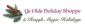 Ye Olde Holiday Shoppe on Prospero Lane Handmade Christmas Holiday Ornaments and Jewelry