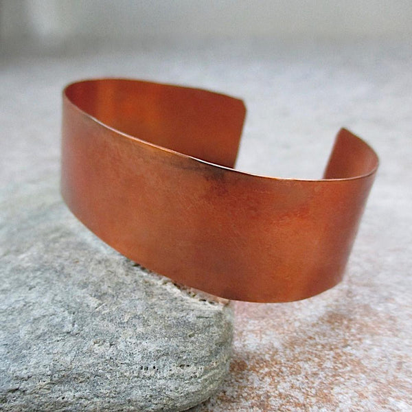 Primitive Copper Cuff Unisex bracelet metal jewelry