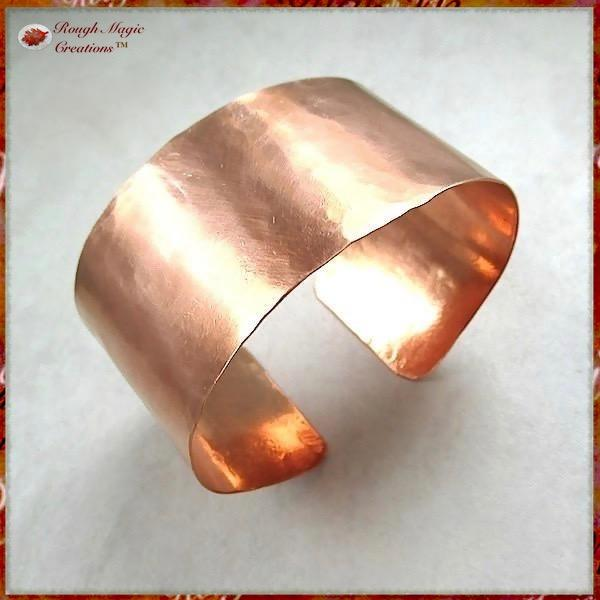 Plain and Simple Copper Cuff Bracelet