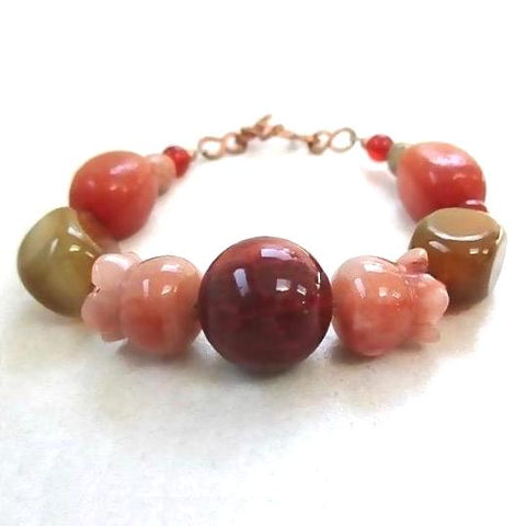 Multicolor Gemstone Bracelet Fall Fashion Jewelry