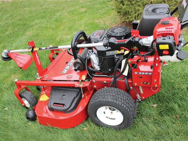 Mower Trimmer Rack Example
