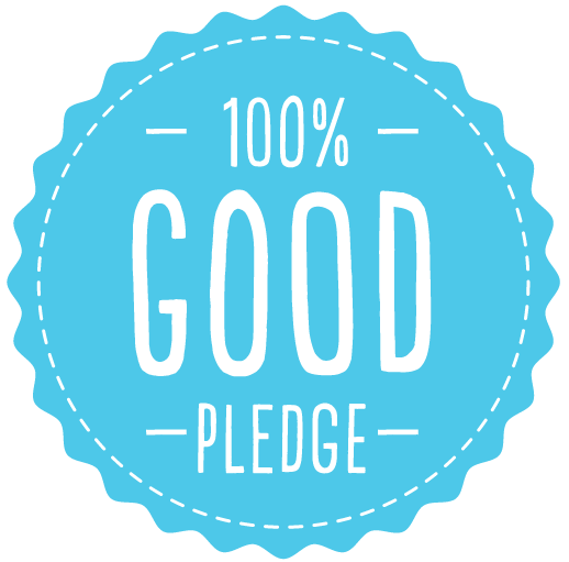 Our Pledge: 100% Good
