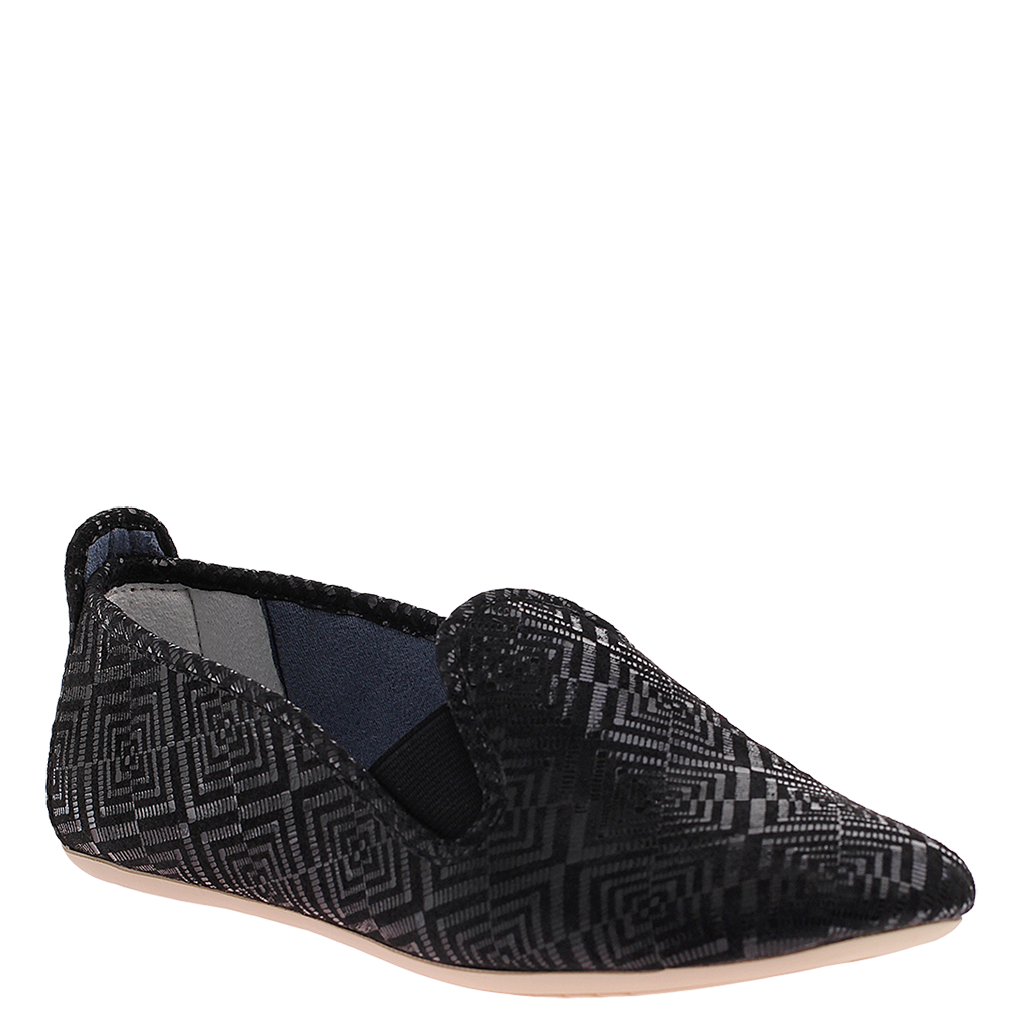 e0fa146b0 Stretch in Black Grid Loafers | Women's Shoes by DIMMI - Dimmi Shoes
