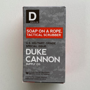 Duke Cannon Tactical Scrubber