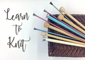 Learn To Knit for Beginners