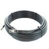 75 ft. Black RG11 Low Loss Coax (F Male to F Male)