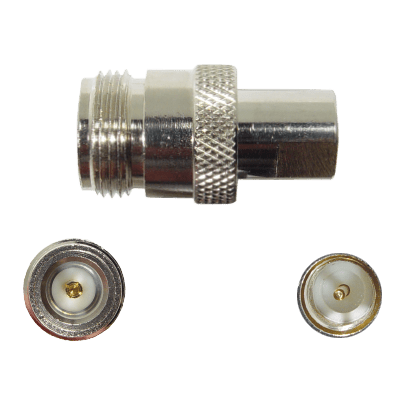 N Female to FME Male Connector