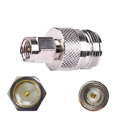 F Male to N Female Connector