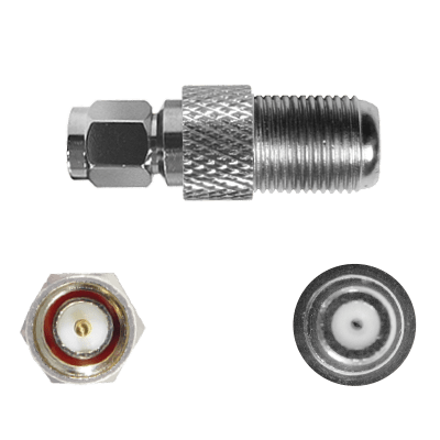 SMA Male to F Female Connector