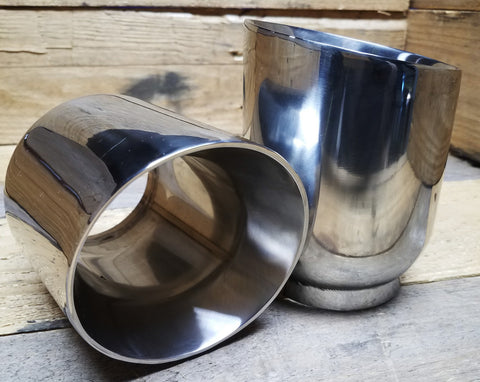"4"" Double-Wall Stainless Exhaust Tip"