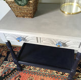 Charming Vintage Painted Table