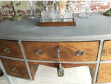 An Elegant Painted Sideboard/Dressing Table