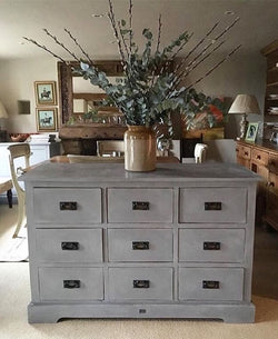 Chest Of Drawers Painted Autentico Earth Stone