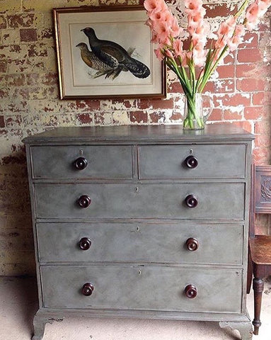Beautifully Proportioned Large Antique Chest Of Drawers
