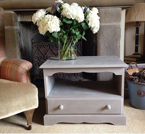 TV Cabinet Painted Autentico Earth Stone