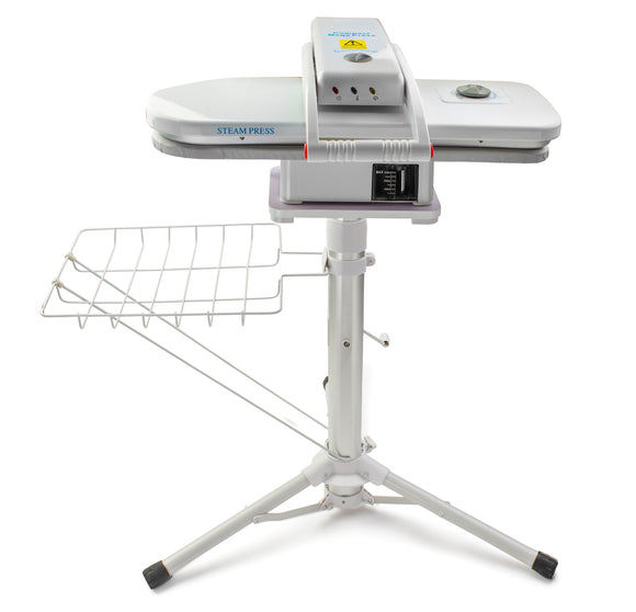 Home Steam Press With Stand Clothing Press Fabric Press Compact 1350 Watts, 22 inches