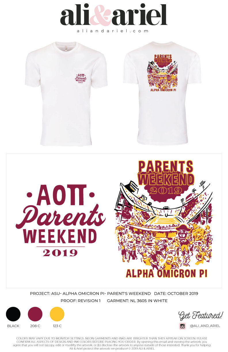 ASU-Alpha Omicron Pi-Parent's Weekend