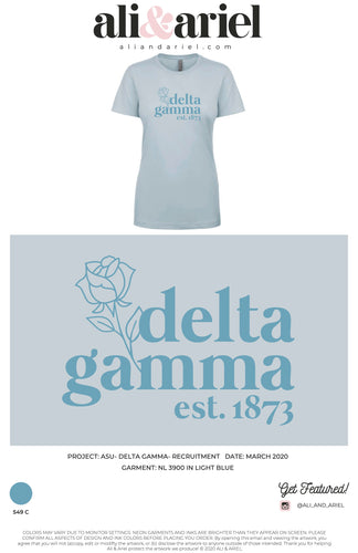 RECRUITMENT TEE. ASU- ΔΓ- Recruitment '20