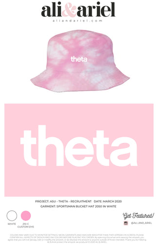 ASU- Theta- Recruitment 2020- Bucket Hat