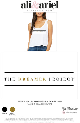 The Dreamer Project- Flowy Cropped Tank