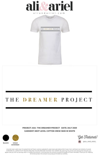 The Dreamer Project- Crewneck Tee