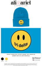 Florida State- Tri Delta- Smiley Beanies