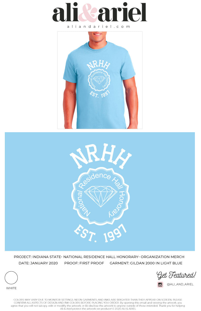 Indiana State- NRHH- PR Tee