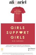 AΞΔ. Western Michigan- Panhellenic- Girls Support Girls