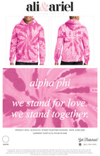 SFSU- Alpha Phi- Stand Together Hoodies