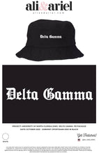 University of North Florida- Delta Gamma- Bucket Hats