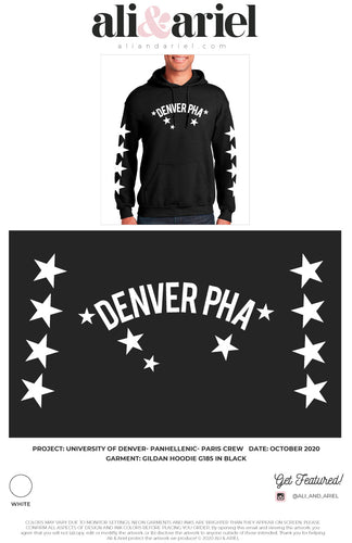 University of Denver- Panhellenic- Cosmic Hoodie