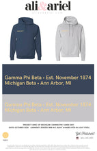 HOODIES. Michigan- Gamma Phi- Game Day!