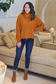 Cozied Up Sweater- Camel