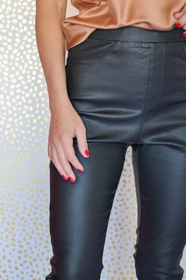 Here For It Leather Pants