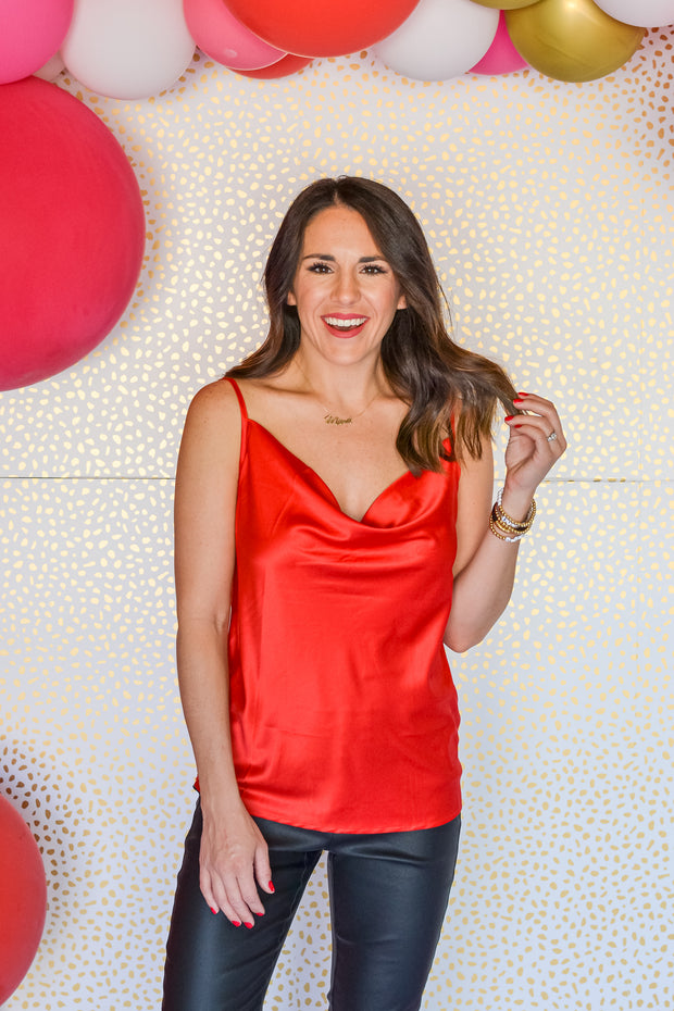 Holiday Rush Top- Red