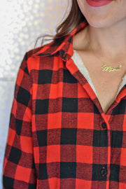Must Have Flannel- Red/ Black