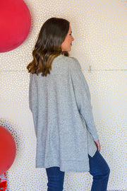 Back To The Basics Top- Grey